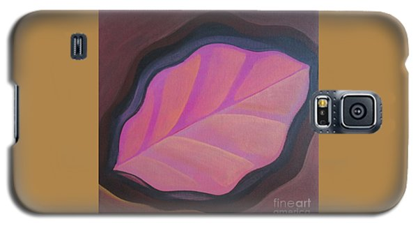 Pink Leaf Galaxy S5 Case