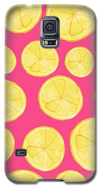 Pink Lemonade Galaxy S5 Case by Allyson Johnson