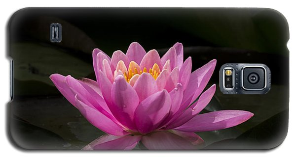 Galaxy S5 Case featuring the photograph Pink Lotus by Andrea Silies