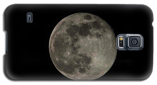 Galaxy S5 Case featuring the photograph Pink Moon by David Bearden