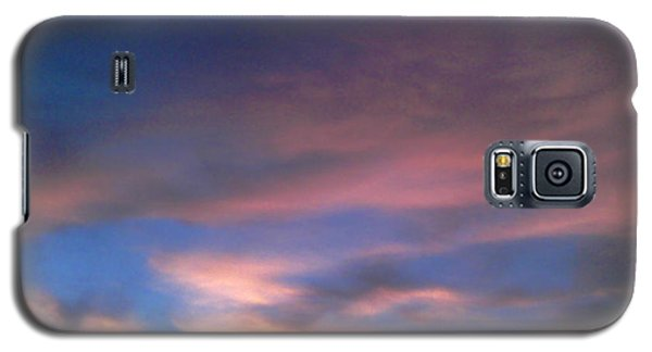 Pink Morning Clouds Galaxy S5 Case
