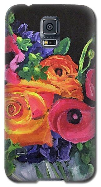 Pink On Black Galaxy S5 Case