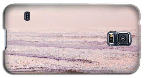 Galaxy S5 Case featuring the photograph Pink Pacific Beach by Bonnie Bruno
