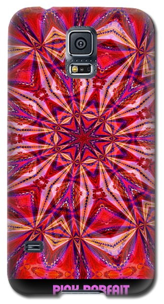 Pink Parfait Galaxy S5 Case by Charmaine Zoe