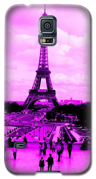 Pink Paris Galaxy S5 Case