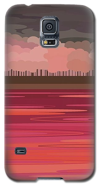 Pink Park Galaxy S5 Case by Val Arie