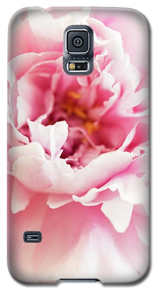 Galaxy S5 Case featuring the photograph Pink Peony 2 by Elena Nosyreva