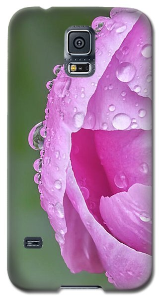Pink Peony After A Rain Galaxy S5 Case