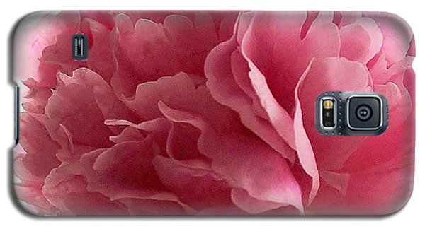 Pink Peony Galaxy S5 Case by Katy Mei