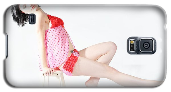 Pink Pinup Galaxy S5 Case