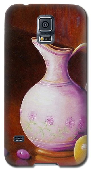 Pink Pitcher Galaxy S5 Case