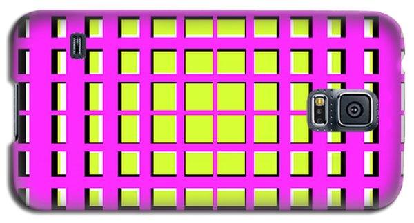 Pink Polynomial Galaxy S5 Case