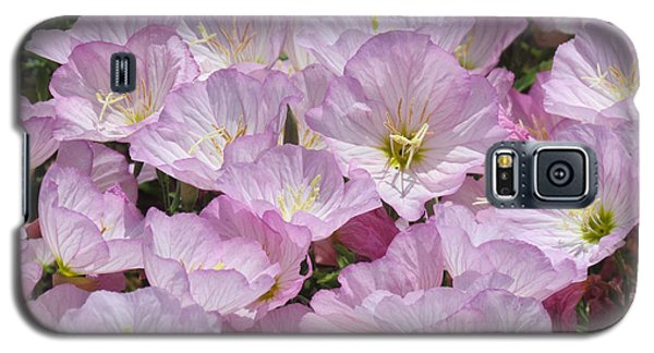 Pink Primrose Galaxy S5 Case