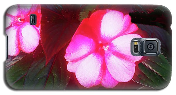 Pink Red Glow Galaxy S5 Case
