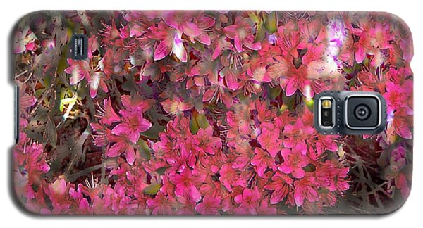 Pink Rhododendron Galaxy S5 Case