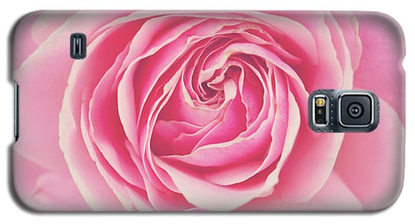 Galaxy S5 Case featuring the photograph Pink Rose Petals by Melanie Alexandra Price