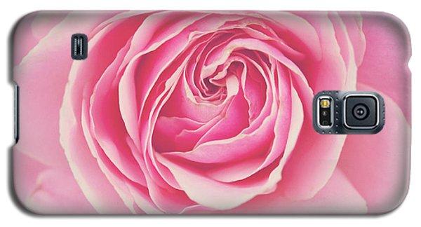 Pink Rose Petals Galaxy S5 Case