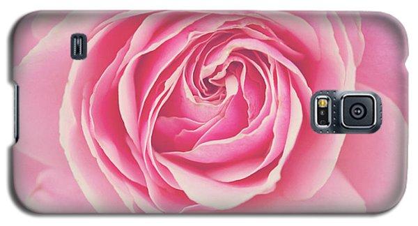 Pink Rose Petals Galaxy S5 Case by Melanie Alexandra Price