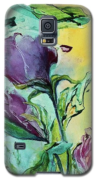 Pink Rosebuds Galaxy S5 Case