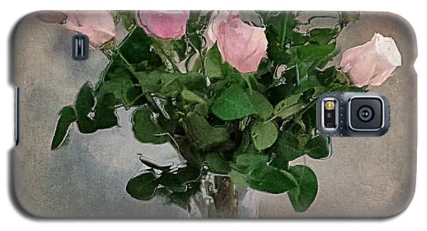 Pink Roses Galaxy S5 Case by Alexis Rotella