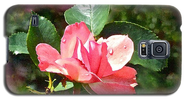 Pink Roses In The Rain 2 Galaxy S5 Case
