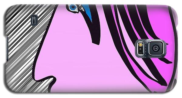 Pink Scarf Galaxy S5 Case