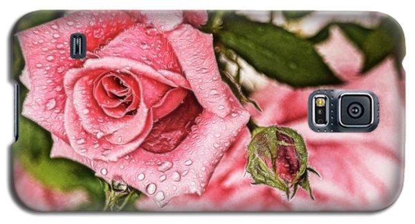 Pink Serenity Galaxy S5 Case