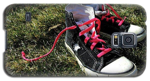 Pink Shoe Laces Galaxy S5 Case