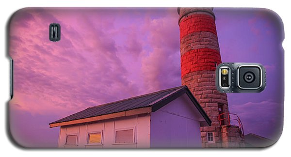 Pink Skies At Cape Moreton Lighthouse Galaxy S5 Case