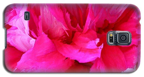 Pink Splash Galaxy S5 Case by Kristin Elmquist