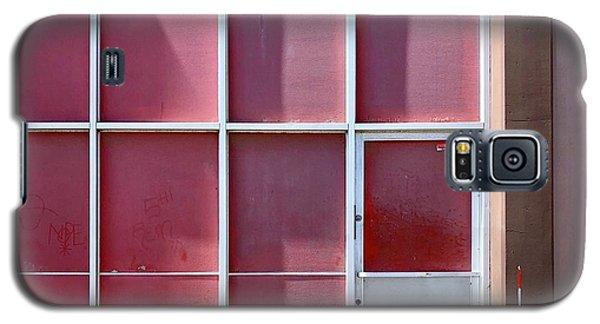 Galaxy S5 Case - Pink Squares by Julie Gebhardt