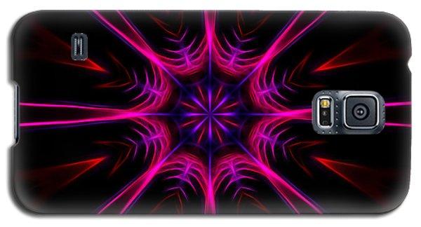 Pink Starburst Fractal  Galaxy S5 Case