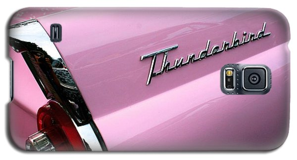 Galaxy S5 Case featuring the photograph Pink Thunderbird by Polly Castor