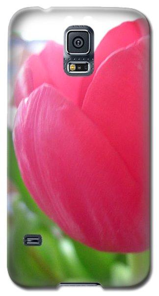 Pink Tulip Galaxy S5 Case