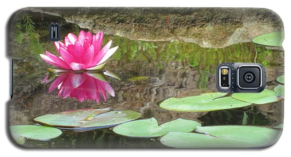 Pink Waterlilly  Galaxy S5 Case