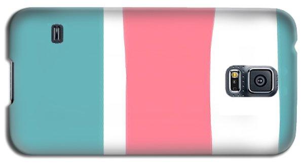 Pink White Blue 2 Galaxy S5 Case
