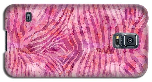 Pink Zebra Print Galaxy S5 Case