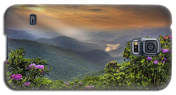 Pinnacle Sunset  Galaxy S5 Case