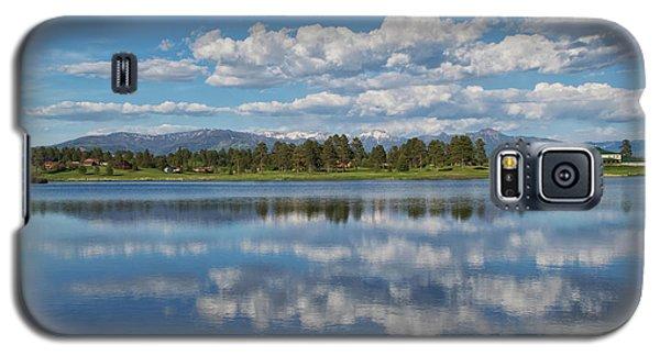 Pinon Lake Reflections Galaxy S5 Case