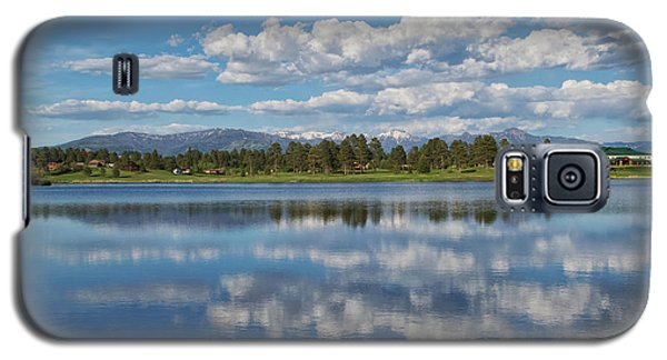Pinon Lake Reflections Galaxy S5 Case