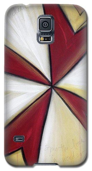 Pinwheel Heartwheel Galaxy S5 Case