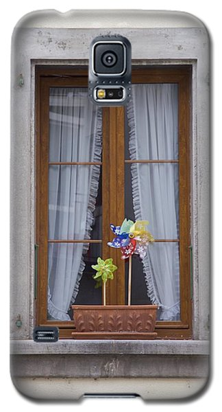Galaxy S5 Case featuring the photograph Pinwheels Will Do by Colleen Williams