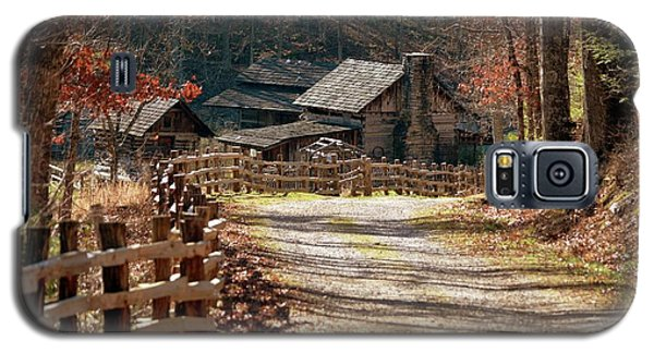 Galaxy S5 Case featuring the photograph Pioneer Farm by Brenda Bostic
