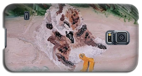 Piping Plover Chick 2 Galaxy S5 Case