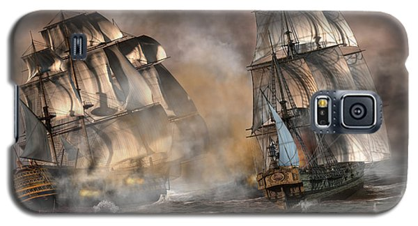 Pirate Battle Galaxy S5 Case by Daniel Eskridge