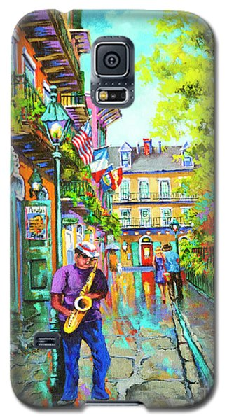Pirate Sax  Galaxy S5 Case by Dianne Parks