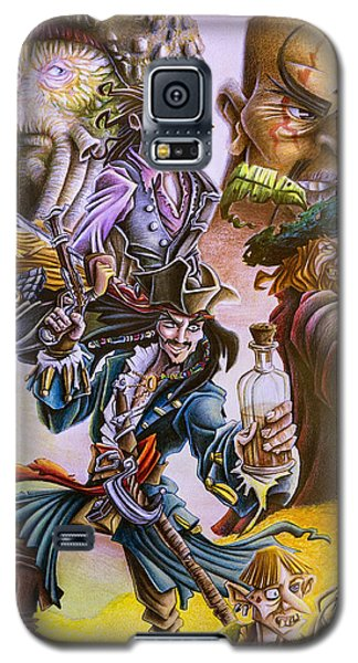 Orlando Bloom Galaxy S5 Case - Pirates Of The Caribbean by Michael Christmas