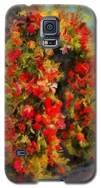 Pi's Flowers 2 Galaxy S5 Case
