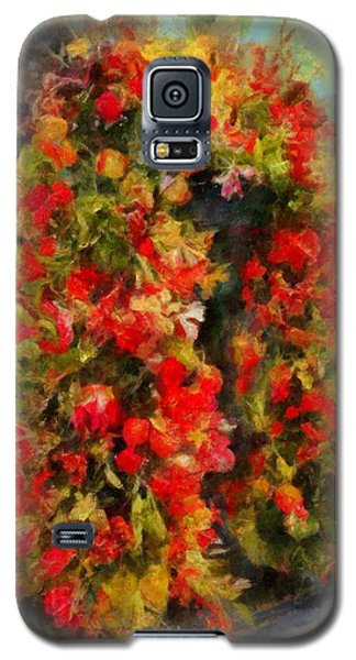 Pi's Flowers 2 Galaxy S5 Case