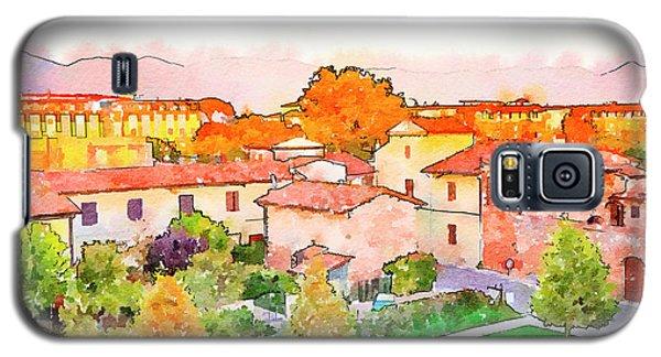 Pisa In Watercolor Style Galaxy S5 Case